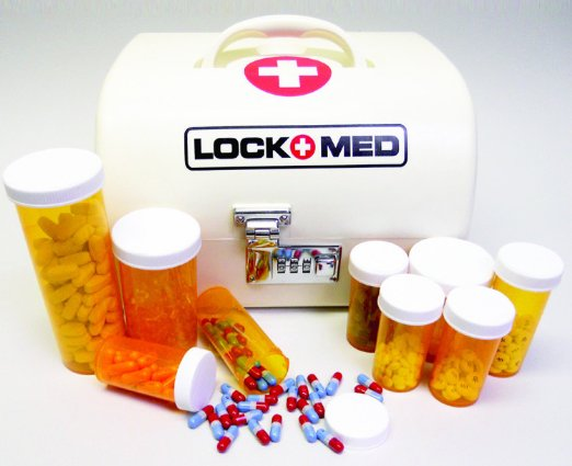 Lockmed Home Medication Lock Box